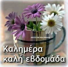 Καλημερα καλη εβδομαδα - Good morning have a nice week Night Pictures, Night Photos, Happy Week, Happy Saturday, Sunday, Good Morning Quotes For Him, Beautiful Pink Roses, Greek Language, Good Afternoon