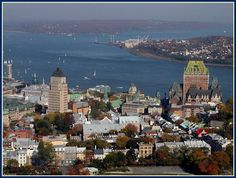 Vieux-Québec in Québec, QC