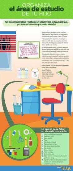 Decoracion De Baño Homecenter:Organiza el área de estudio de tu hijo