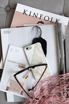 kinfolk magazine, golden hands, rose quartz