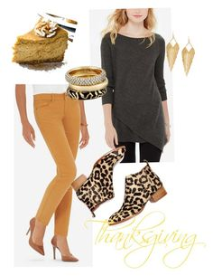 """""""Thanksgiving 15"""" by fashionista-1974 on Polyvore featuring Jeffrey Campbell, Panacea and Michael Kors"""