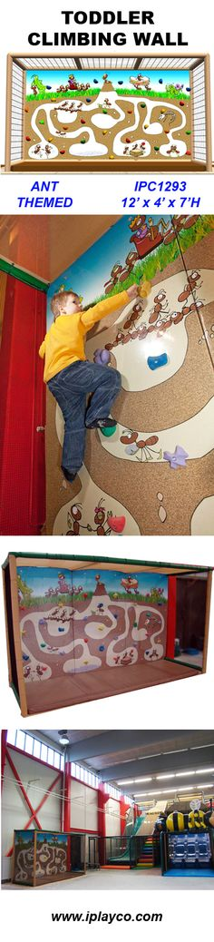 Indoor themed barn playground by iplayco this was for Indoor gym equipment for preschool