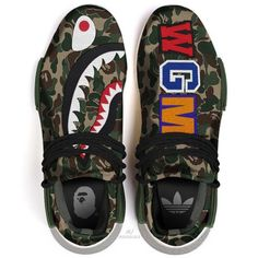 I think these are different then the other one but they are both dope af. Sooo um I think you can check the adidas website. Me Too Shoes, Men's Shoes, Shoes Sneakers, Custom Sneakers, Custom Shoes, Fresh Shoes, Hype Shoes, Bape, Mode Style