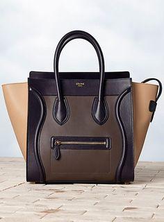 Sac Luggage multicolore en veau anthracite 7a320c627986e