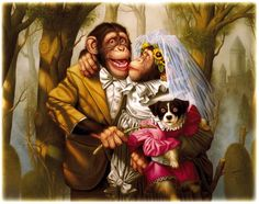 Lola apparently got kidnapped by upper-class monkeys......by Donald Roller Wilson