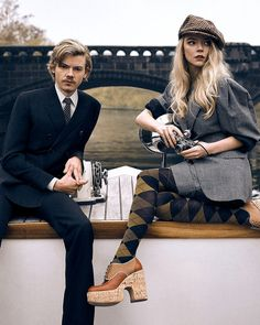 Anya Taylor Joy, Anya Joy, Thomas Brodie Sangster, 20th Century Fashion, Friends Tv Show, Celebrity Crush, Movies And Tv Shows, Cute Couples, Actors & Actresses