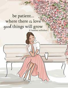 Be patient....