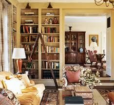 Classic/ Nostalgic Photo: Horse Farm in Upstate New York - reading rom, G. Upstate New York, Bookcase Lighting, Built In Bookcase, Bookcases, Apartment Chic, Virginia Homes, Study Rooms, Classic House, Home Staging