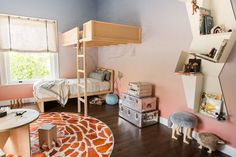 This Safari-Themed Kids Room Is Cool Enough for Adults via Brit + Co