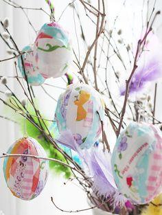 Kauniin freesi pääsiäispuu!