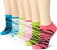 no show socks in funky colors