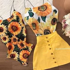 Pin by Jessica Prescott on Clothes(: in 2019 Teenager Outfits, Outfits For Teens, Trendy Outfits, Look Fashion, Teen Fashion, Fashion Outfits, Womens Fashion, Cute Summer Outfits, Spring Outfits
