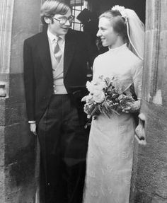 Miss Honoria Glossop:  The Duke and Duchess of Gloucester on their wedding day-Prince Richard of Gloucester and Birgitte van Deurs, July 8, 1972