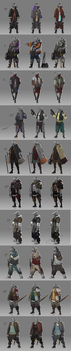 Droids concept by Joe Gloria