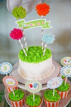 Adorable DIY cake. #cake #party