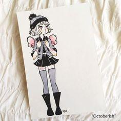 Ree Artwork - Inktober 2015 Mini-Original Illustrations