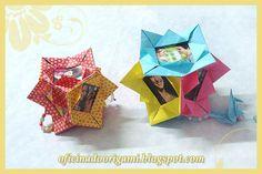 Paper Photo Frame Diy, Origami, Diy Frame, Halloween, Cards, Paper Folding, Portrait Frames, Christmas Ornaments, The Creation