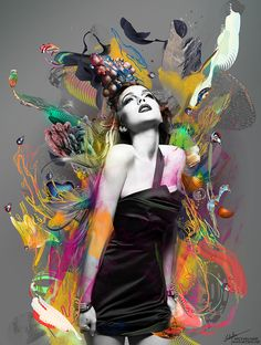 Visionary Art by Archan Nair. Lots of new work in archan's online portfolio featuring digital artworks, and photo illustrations. Collaboration with Red Bull racing and Lindsay Lohan among many of them