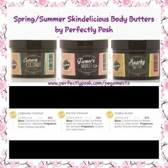 Perfectly Posh Spring/Summer 2015 items. Order at Www.perfectlyposh.com/pegomez12