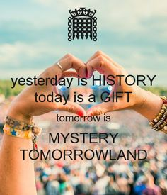 Tomorrowland ❤❤❤ It's a big festival event in belgium! For most people one big dream to be on this festival.