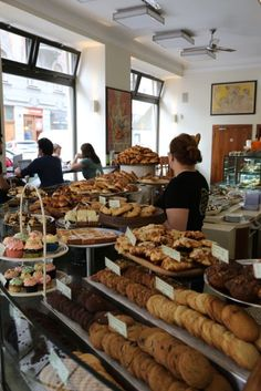 My favourite bakery in Prague, Bakeshop.