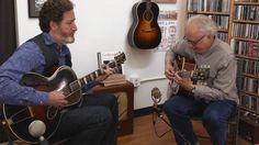 Matt Munisteri & Bill Frisell at the Fretboard Journal Bill Frisell, Journal, Music, Musica, Musik, Muziek, Music Activities, Songs