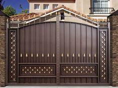 Iron Main Gate Design, Gate Wall Design, Steel Gate Design, Front Gate Design, House Gate Design, Door Design, Porch Gate, Grill Gate, Modern Fence Design