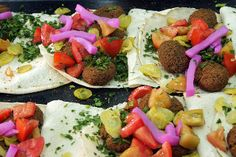 Beautiful Falafels in Lebanon