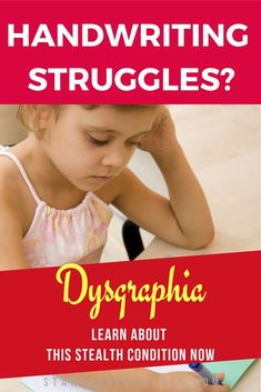 Do you know about dysgraphia? It's more than poor handwriting. Find out more about this overlooked condition. Learning To Write, Teaching Writing, Kids And Parenting, Parenting Hacks, Visual Schedule Autism, Visual Schedules, Dyslexia Strategies, Adhd Signs, Dyscalculia