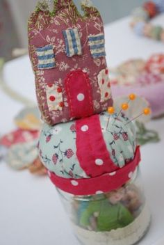 Little House on the Hill Pincushion - Julie Arkell