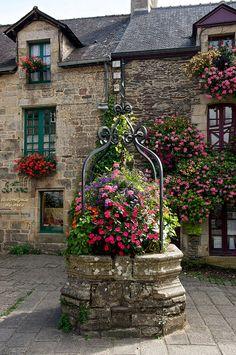 Bretagne, Morbihan, Rochefort-en-Terre, France