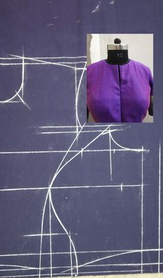 Buy Online Blouse Sewing Patterns from Blouse Guru in Seconds. with different categories of Blouse Sewing Patterns. Back Neck Designs, Fancy Blouse Designs, Blouse Neck Designs, Dress Sewing Patterns, Blouse Patterns, Clothing Patterns, Pattern Sewing, Blouse Tutorial, Sewing Collars