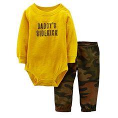 Carter's Daddy's Sidekick Bodysuit Set