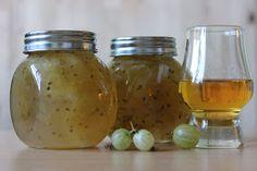 Krusbärsmarmelad med whisky. Bästa marmeladen som vi gör varje år på våra gröna krusbär.