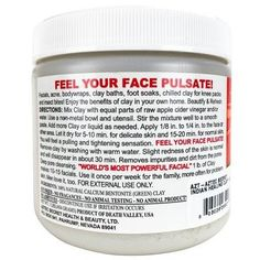 Homemade Facial Skin Care Recipes – Ideas on Skin Care Skin Tips, Skin Care Tips, Indian Healing Clay, Skin Care Routine For 20s, Face Routine, Target, Pore Cleansing, Green Clay, Facial Treatment