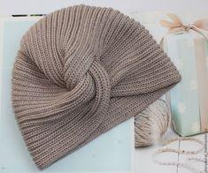 Купить Шапка-чалма - бежевый, чалма, головной убор для женщин, шапка, шапка вязаная женская