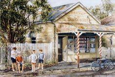 Australian artist Gordon Hanley