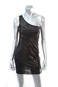 ALICE + OLIVIA ONE SHOULDER SHIMMER DRESS Size Small  Retail: $154  PlushAttire.Com Price: $69  55% OFF RETAIL!  #fashion