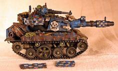 Death Skull Looted Tank by billking on deviantART