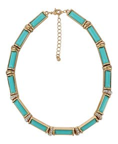 Rhinestone & Opaque Necklace | FOREVER21 - $10.80