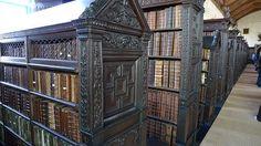 Library in St. John's College, Cambridge
