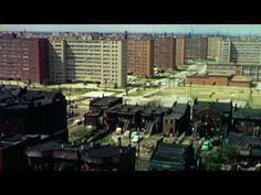 The Pruitt-Igoe Myth is a fantastic documentary on a difficult subject - urbanization.  While the film centers around St. Louis and one of the first public housing projects in the US it's far more wide reaching.  Great use of archival footage, researchers did an excellent job on that.  One of the best uses of a green screen background to impose a surgically clean white and shiny look for interviews. Well handled story from start to finish.  Worth watching again.