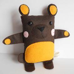 Little Bear Handmade Soft Toy - Hugo. £12.50, via Etsy.