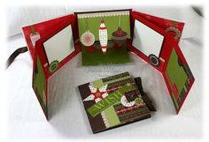 stampin'+up+christmas+projects   Stampin' Up! Project Ideas - Andrea Walford, Sunny Stampin' Blog ...
