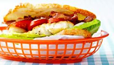 Clubsandwich med torsk