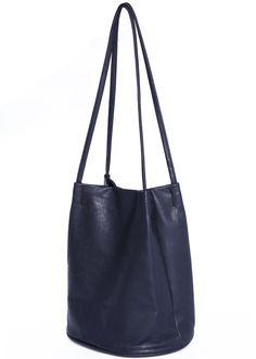 Navy Buckle PU Shoulder Bag 15.67