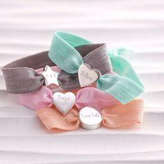 Personalised Pastel Stretch Bead Bracelet