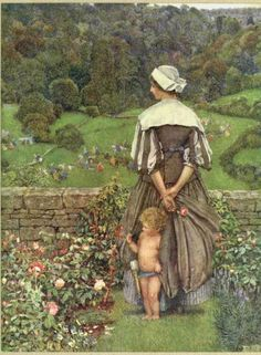 Eleanor Fortescue Brickdale:The Book of old English songs and ballads