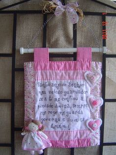Organize Fabric, Angel Crafts, Prayer Flags, Diy And Crafts, Sewing Projects, Applique, Patches, Reusable Tote Bags, Just For You
