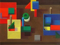 Liu Ye Composition with Toy Bricks, 2009